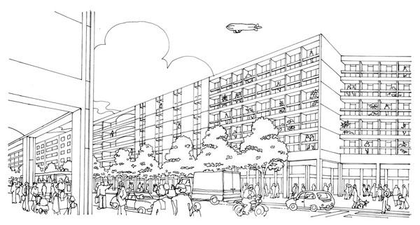 bairro novo diversidade-urbana-e-pluralidade-arquitetonica