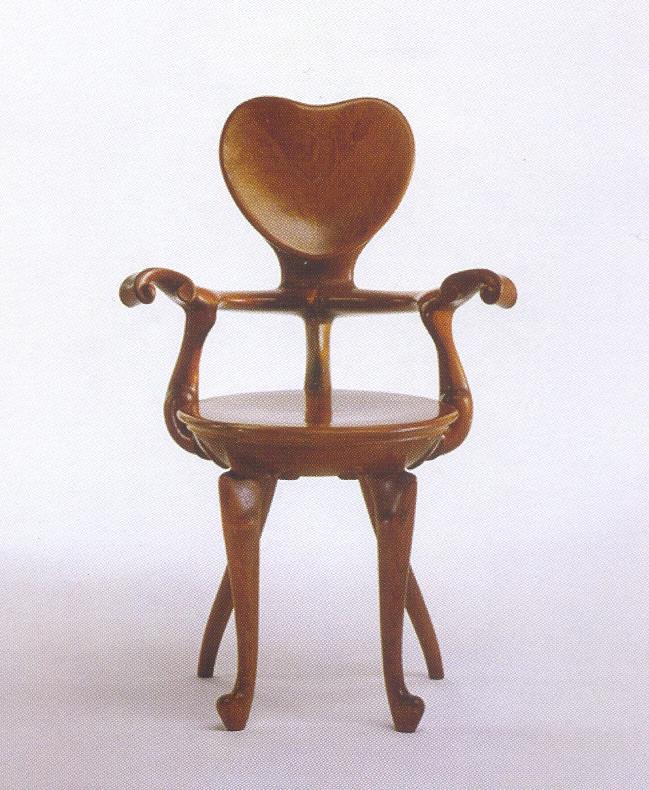 Cadeira Calvet de Antoni Gaudi