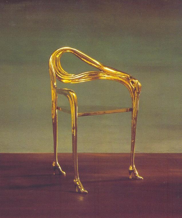 Cadeira Leda de Salvador Dali