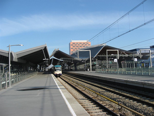 vista da estação