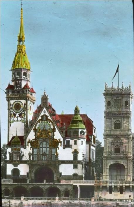 pavilhão alemão