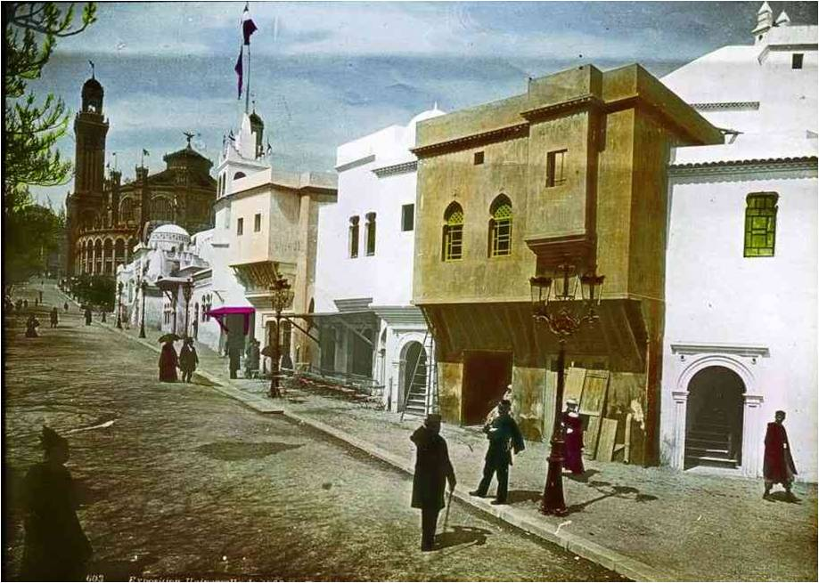 pavilhão argelino