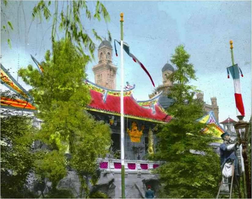 pavilhão da indochina