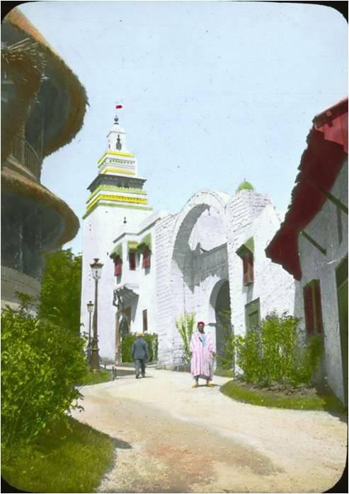 pavilhão tunisiano
