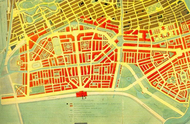 Plano de Amsterdam Sul Berlage