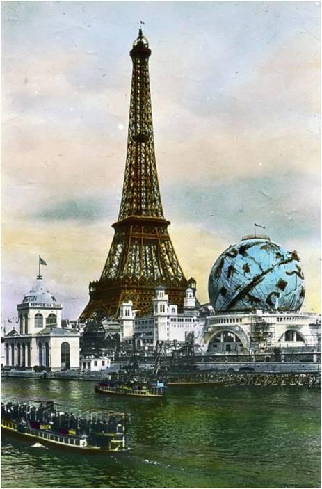 Tour Eiffel e globo celeste