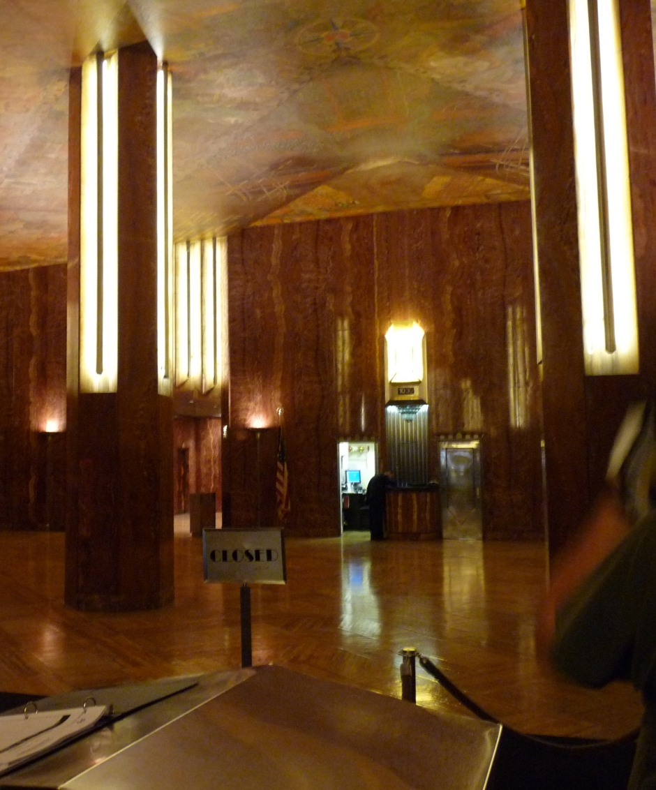 chrysler building interior blog