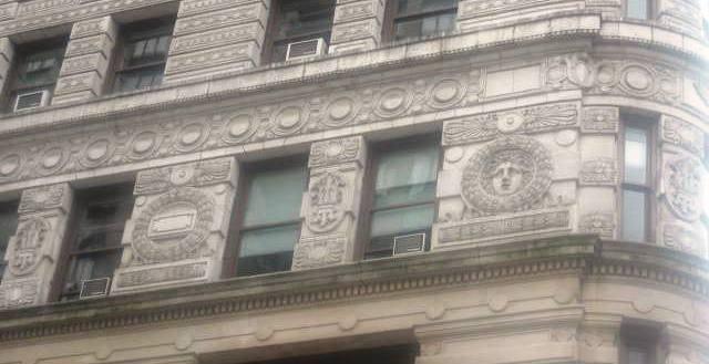 flatiron detalhe fachada