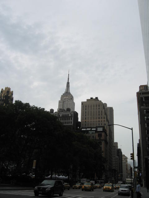 empire state e o skyline