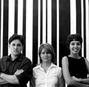 Celso Rayol, Claudia Miranda e Adriana Sansão