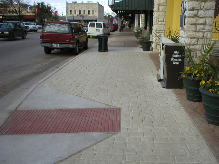 SIDEWALKS GRANBURY 2