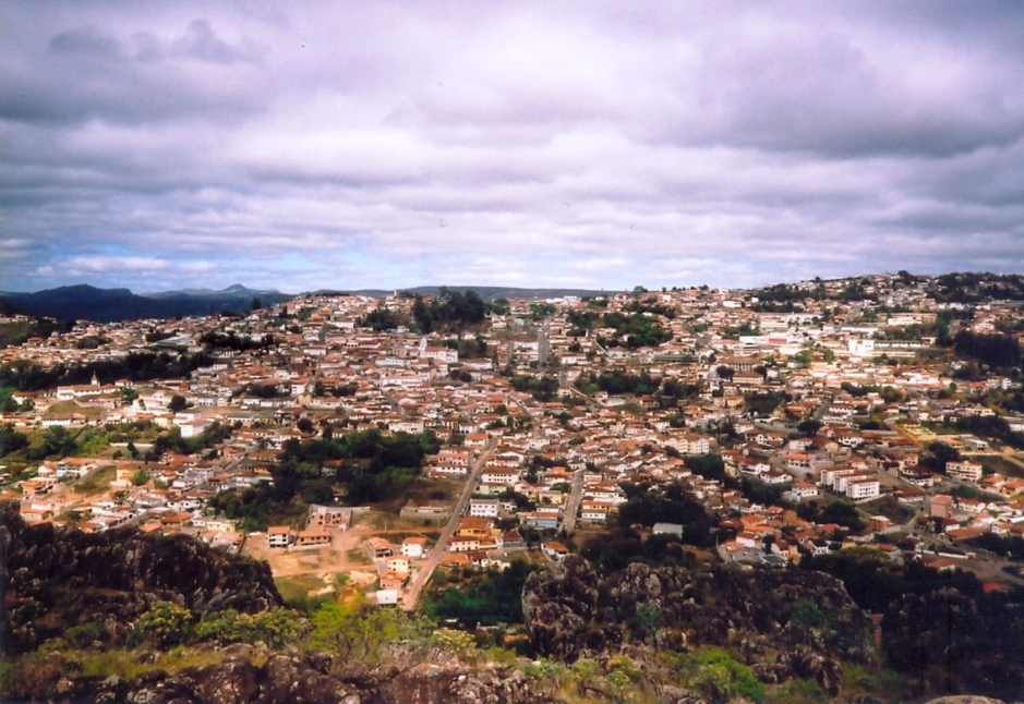 vista de Diamantina
