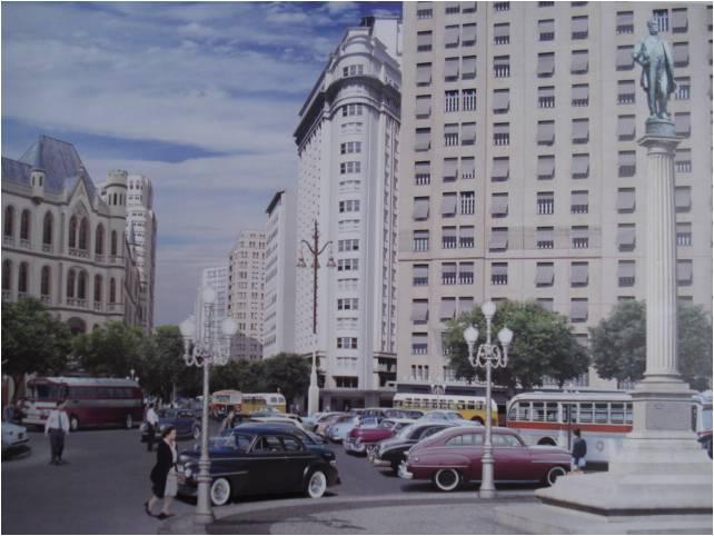 praça maua 1956