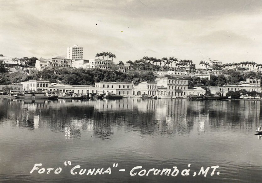 foto antiga do cais do porto