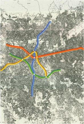 mapa 1970