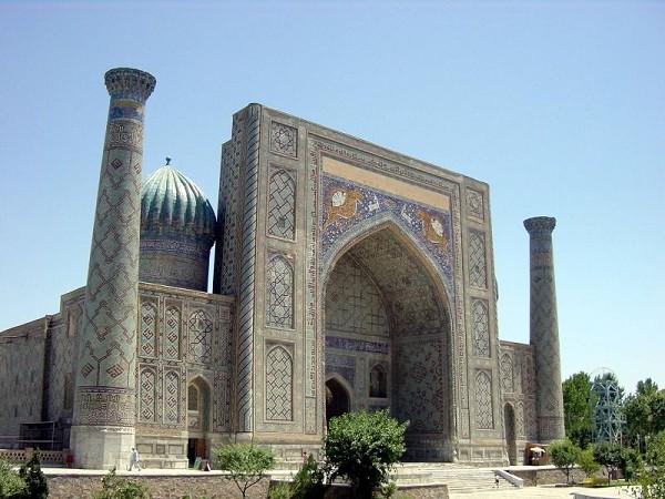Samarkand_-_Sherdor_madrassa