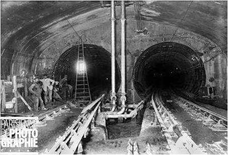 construção do tunel concorde