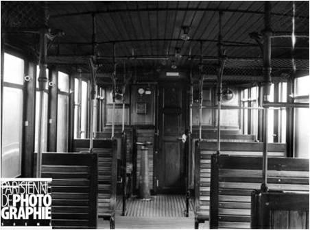 interior de um vagão 1901