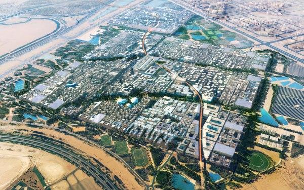 Masdar City - Maquete Fonte: Foster + Partners