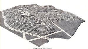 Maquete da Cidade Jardim Eldorado Fonte: Rev. Arquitetura e Engenharia
