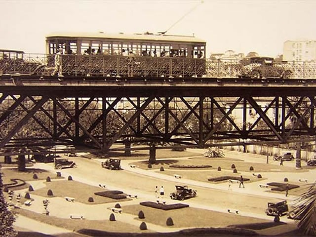 Viaduto do Chá Cartão Postal - 1923